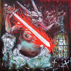 "IMPALED NAZARENE: Cover von Vigorous And Liberating Death"""
