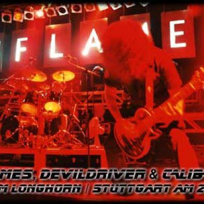 IN FLAMES, DEVILDRIVER, CALIBAN: Stuttgart, Longhorn, 28.4.2004