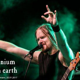 INSOMNIUM, BARREN EARTH  (25. Januar 2017, Stuttgart, Im Wizemann)