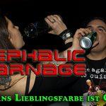 CEPHALIC CARNAGE: Satans Lieblingsfarbe ist Grün