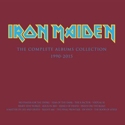 IRON MAIDEN: Neuauflagen der Alben von 1990 bis 2015