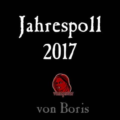 vampster Jahresrückblick 2017 von Boris