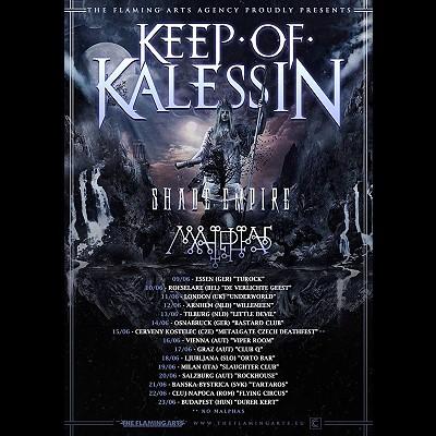 KEEP OF KALESSIN: neuer Drummer und Tour
