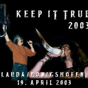 KEEP IT TRUE 2004: Das Line-Up aus der Sicht des Veranstalters – Teil 1