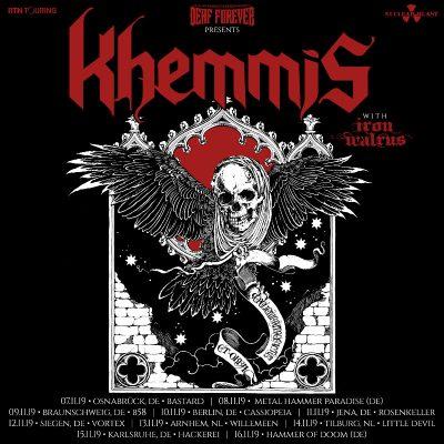 KHEMMIS: Deutschland-Konzerte im November