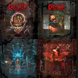 """KREATOR: Re-Releases von """"Coma Of Souls"""", """"Renewal"""", """"Cause For Conflict"""" und """"Outcast"""""""