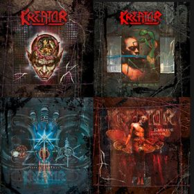 "KREATOR: Re-Releases von ""Coma Of Souls"", ""Renewal"", ""Cause For Conflict"" und ""Outcast"""