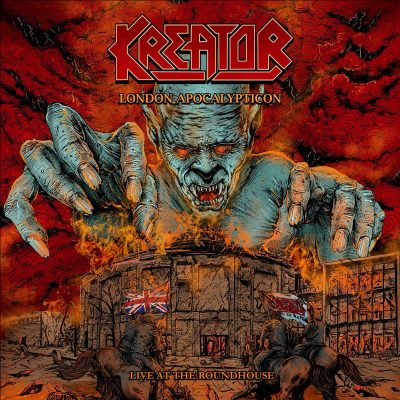 KREATOR: London Apocalypticon – Live At The Roundhouse [BluRay+CD]