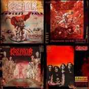 "KREATOR: Re-Releases von ""Endless Pain"", ""Pleasure To Kill"", ""Terrible Certainty"" &  ""Extreme Aggression"""