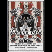 """LACUNA COIL: """"Nothing Stands In Our Way"""" – Konzert zum Bandjubiläum, DVD & Buch"""