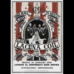 "LACUNA COIL: ""Nothing Stands In Our Way"" – Konzert zum Bandjubiläum, DVD & Buch"