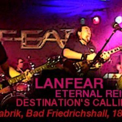 LANFEAR, ETERNAL REIGN, DESTINATION`S CALLING: Rockfabrik, Bad Friedrichshall, 18.02.2012