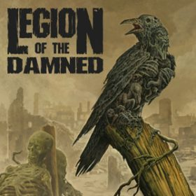 LEGION OF THE DAMNED:  Cover von ´Ravenous Plague´
