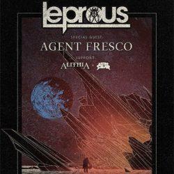 LEPROUS, Agent Fresco, Alithia: Tour 2017