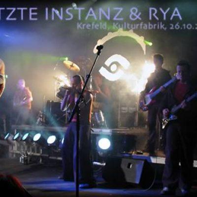 LETZTE INSTANZ: live in der Krefelder Kulturfabrik am 26.10.03