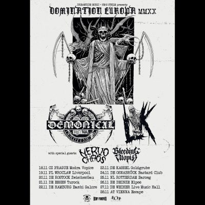 "LIK (S) & DEMONICAL: ""Domination Europa Tour 2020"""