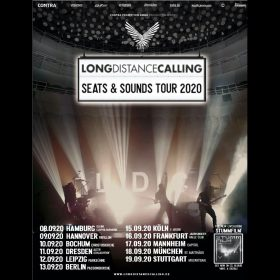 "LONG DISTANCE CALLING: ""Seats & Sounds""-Tour 2020 mit Videoshow & Gastmusikern"