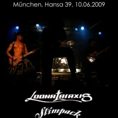 SOYLENT GELB VS. THE ANTENNAE mit LOONATARAXIS, STIMPACK, FRY, LIZA23: München, Hansa39, 10.06.2009