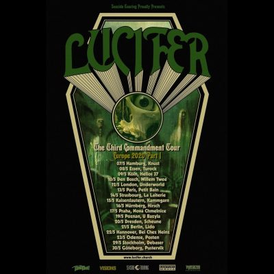 "LUCIFER: ""The Third Commandment""-Tour im Frühsommer 2020"