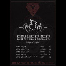 MÅNEGARM: Tour mit EINHERJER & DAWN OF DISEASE