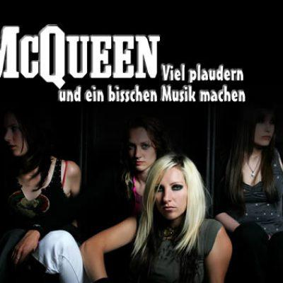 MCQUEEN: Viel plaudern und ein bisschen Musik machen