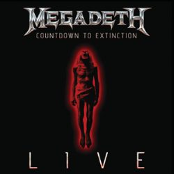 "MEGADETH:  ""Countdown To Extinction: Live"" als CD, DVD & Blu-ray"