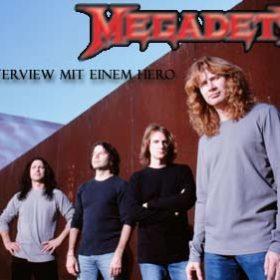 MEGADETH: Mustaine steht Rede und Antwort