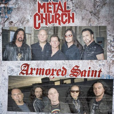 ARMORED SAINT & METAL CHURCH: Tour im Sommer 2019