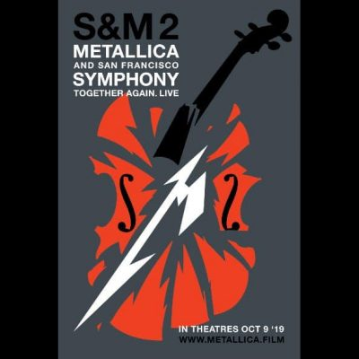 "METALLICA:  zweiter Trailer zu  ""Metallica And San Francisco Symphony: S&M²"""