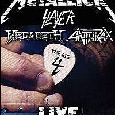 METALLICA: neue DVD mit SLAYER, MEGADETH und ANTHRAX