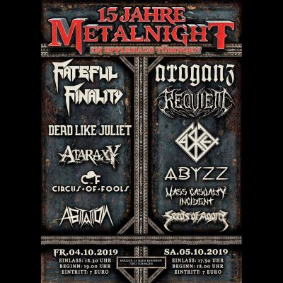 15 Jahre METALNIGHT in Tübingen