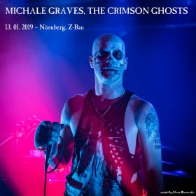 MICHALE GRAVES feat. Argyle Goolsby & THE CRIMSON GHOSTS – 13. Januar 2019 – Nürnberg, Z-Bau