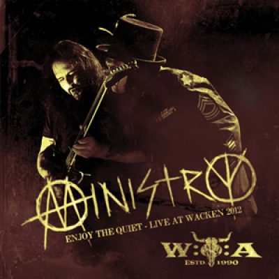 "MINISTRY: Live-DVD ""Enyoy The Quiet"" & neues Album ""From Beer To Eternity"""