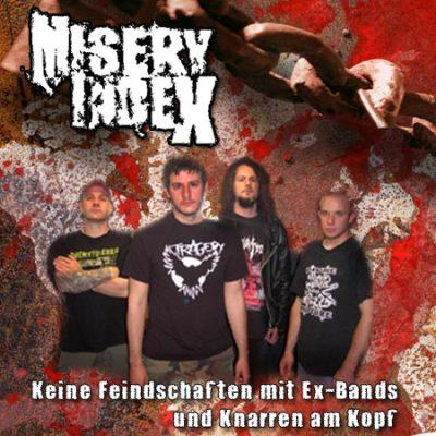MISERY INDEX: Keine Feindschaften mit Ex-Bands und Knarren am Kopf