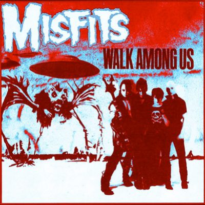 misfits walk among us Cover
