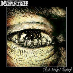 monster blood-soaked restart CD Cover