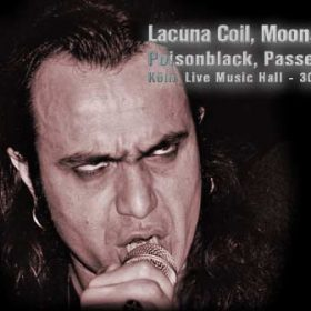 LACUNA COIL, MOONSPELL, POISONBLACK, PASSENGER  – 30.12.03 – Köln, Live Music Hall