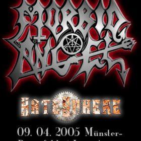 MORBID ANGEL, HATESPHERE: Münster-Breitefeld, Live Arena – 09.04.2005