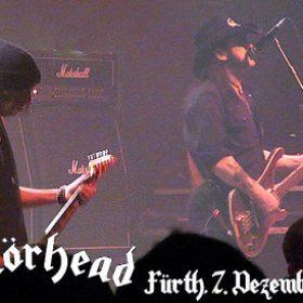 MOTÖRHEAD:  Stadthalle Fürth  am 7. Dezember 2009