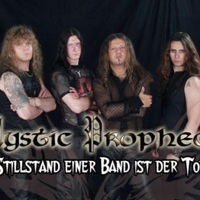 MYSTIC PROPHECY: Stillstand einer Band ist der Tod