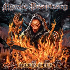 Mystic Prophecy - Das Cover zu Savage Souls