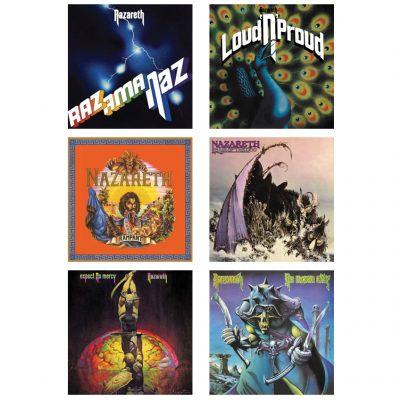 NAZARETH: Vinyl-Re-Releases von sechs Alben