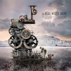 "THE NEAL MORSE BAND: Cover & Tracklist von ""The Grand Experiment"""
