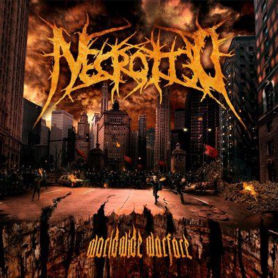 """NECROTTED: weiterer Song von """"Worldwide Warfare"""""""