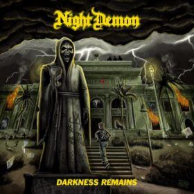 "NIGHT DEMON: neues Album ""Darkness Remains"" im April"