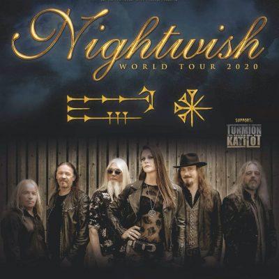 NIGHTWISH: Tour 2020 mit Konzerten in Deutschland & neue Platte