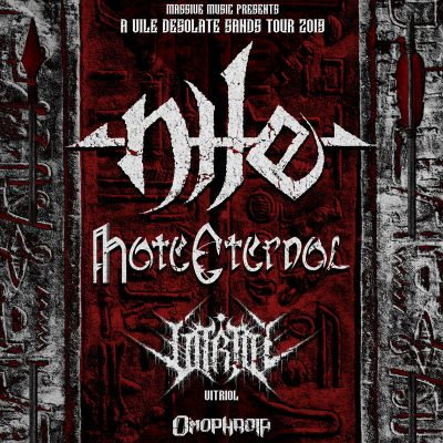 NILE: Tour mit HATE ETERNAL
