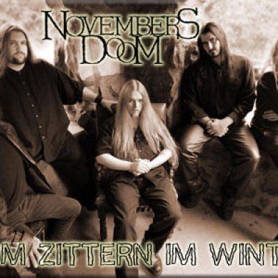 NOVEMBERS DOOM: Vom Zittern im Winter
