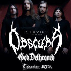 "OBSCURA: ""Diluvium Tour"" Anfang 2020 & neuer Plattenvertrag"