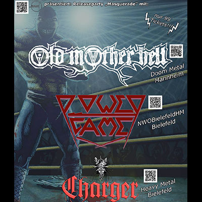 OLD MOTHER HELL, POWERGAME & CHARGER: Konzert  in Bielefeld